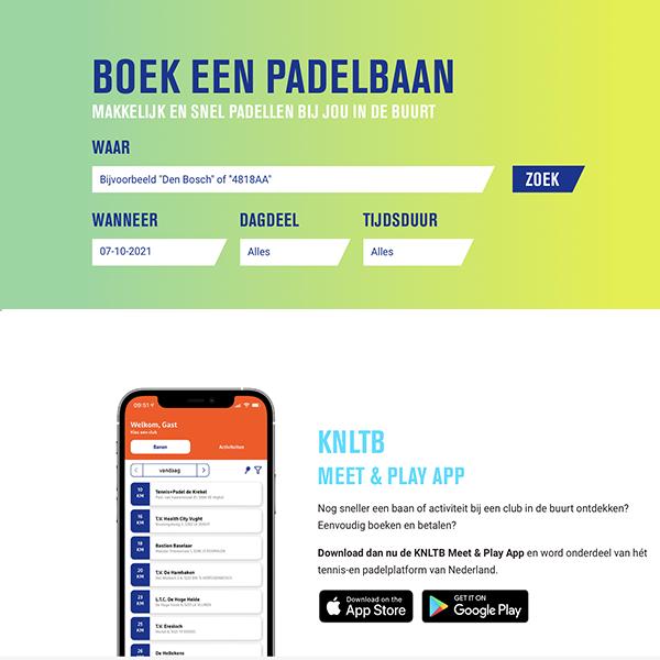 #33 – Padelboeker – KNLTB Meet & Play App om nog sneller een baan bij een club te boeken!